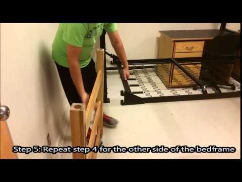 How To Adjust A University Bed Frame