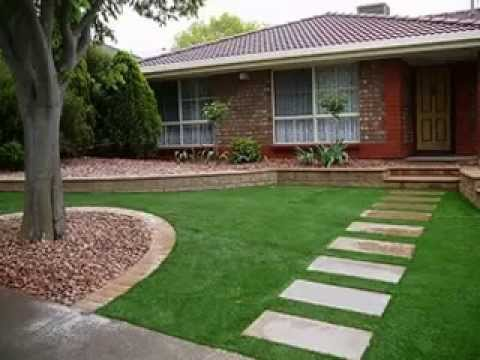 Low maintenance garden design ideas youtube Low maintenance garden border ideas