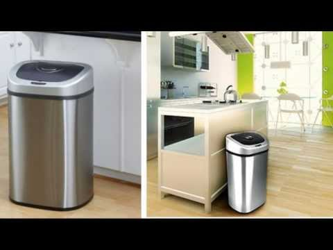 Review - Nine Stars Automatic Trash Can Set of 2, Touchless Motion Sensor