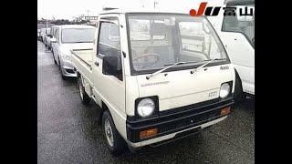 1988 Mitsubishi Minicab Supercharger 4x4 Test Drive - FAST!