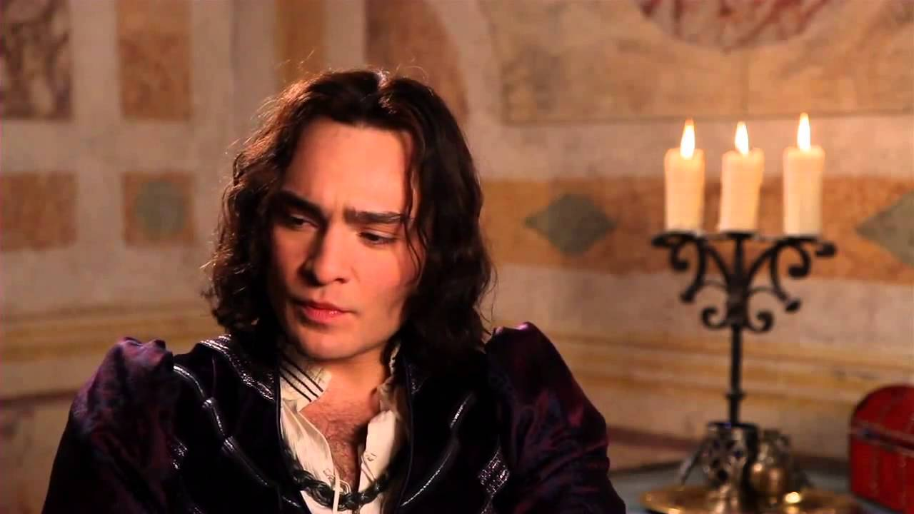 Romeo and Juliet Ed Westwick Tybalt On Set Movie Interview ... Ed Westwick