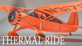 Soaring Thermal Flight By Fairchild 24 - Model Airplane