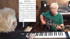 Forgotten Melody - Jazz guitar & piano cover ( Eshpay Andrey )