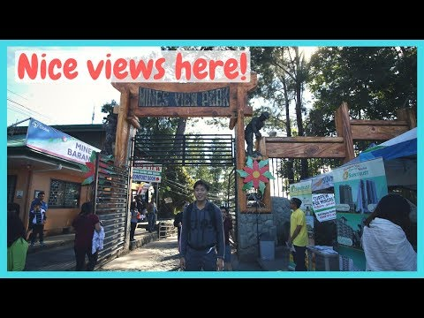 Mines View Park and Horseback Riding in Baguio City Philippines
