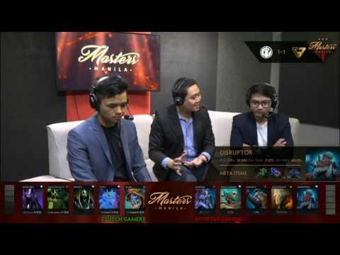 Invictus Gaming vs Clutch Gamers | The Manila Masters | Bo3 | Filipino Coverage | Game 3