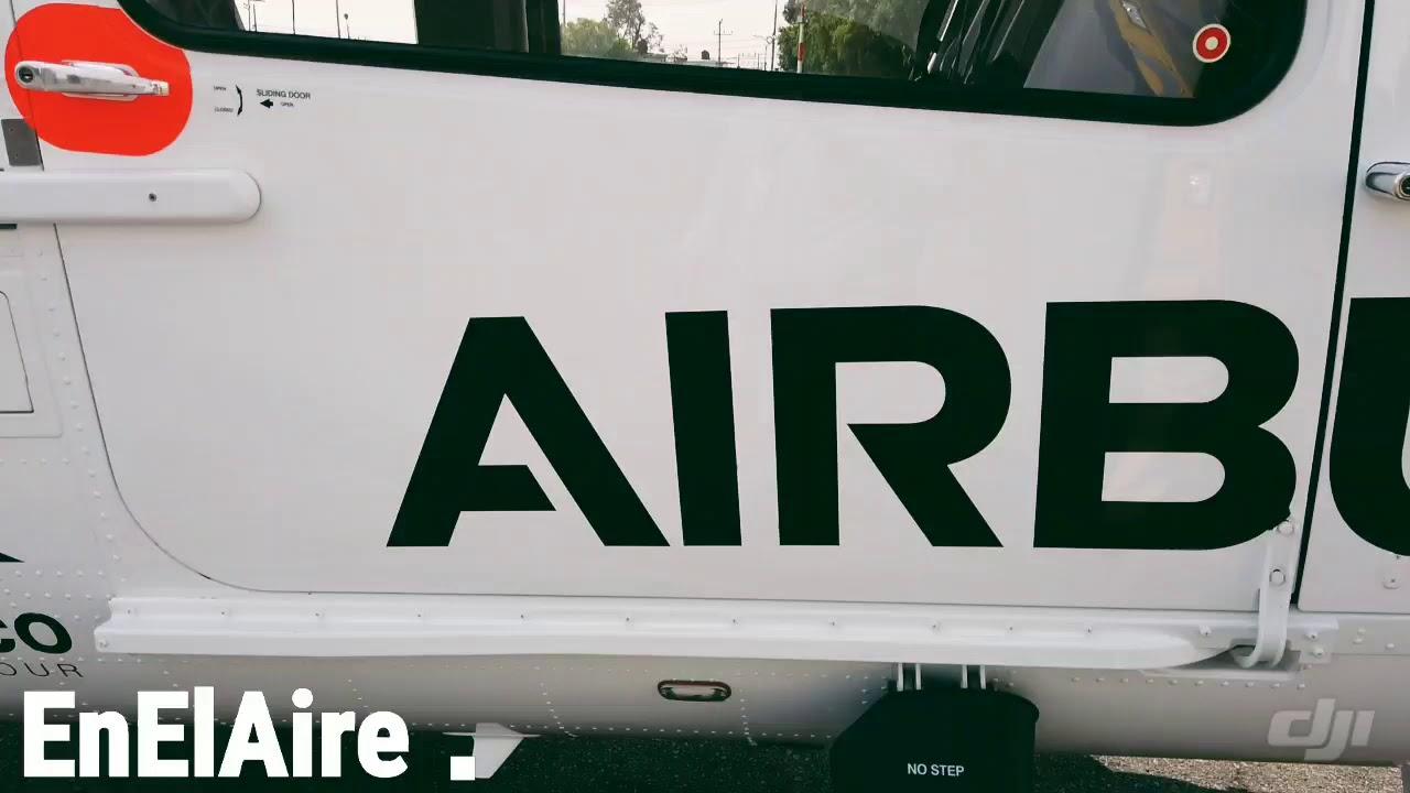 Volando en el H145 de Airbus