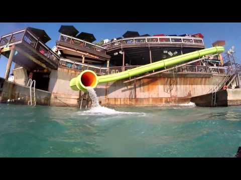 Margaritaville Jamaica - Water Slide and Trampoline