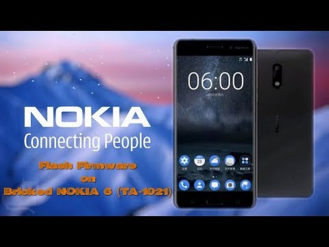 how-to-flash-firmware-on-bricked-nokia-6-(ta-1021)-(100%-working)