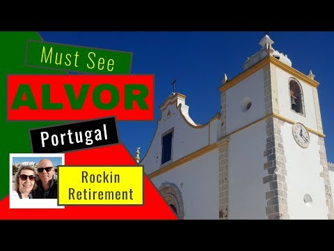 Alvor The Algarve Portugal And Boardwalk