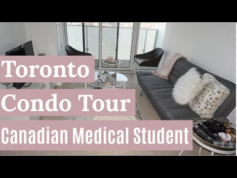My Toronto Condo Tour | Canadian Medical Student | @thegirlymd