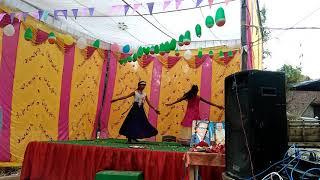 Desh rangeela rangila easy step deshbhakti song dance by little girl student primary school hadhi