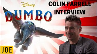 Colin Farrell talks Dumbo, saddest movies ever, and It