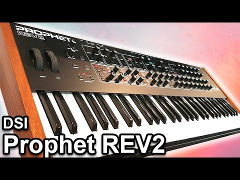 DSI Prophet REV2 - Sounds & Patches - Analog Synth Demo | Dave Smith Instruments
