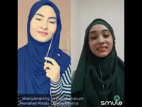 Wany Hasrita Menahan Rindu ft Faha Baharum (Smule)