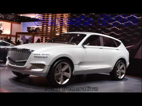 2019 Genesis Gv80 Suv Next Generation Concept