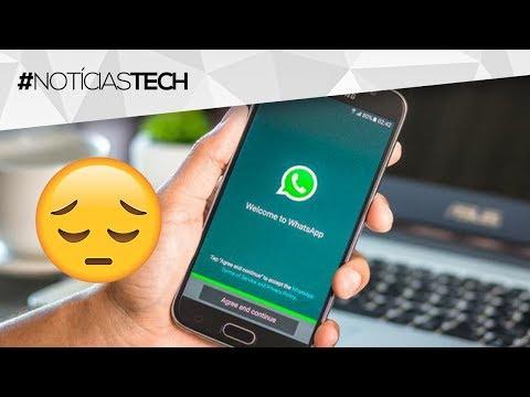 Quem tem WhatsApp no celular uma hora ia ficar sabendo dessa péssima notícia :