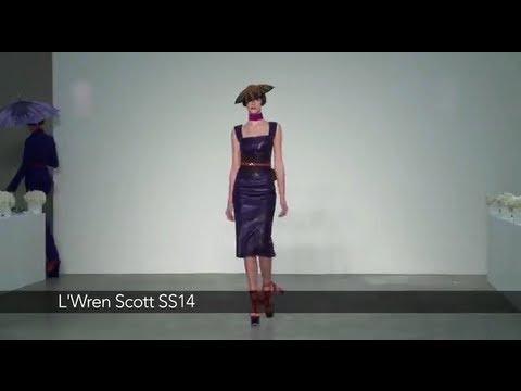 L'Wren Scott London Fashion Week show: L'Wren Scott SS14 Collection