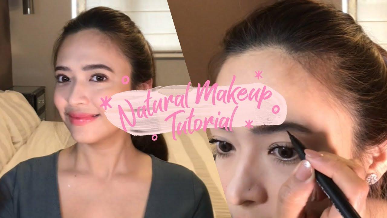 Natural Makeup Tutorial | Bangs Garcia