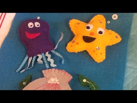 How To Create A Quiet Book Sea Page - DIY Crafts Tutorial - Guidecentral