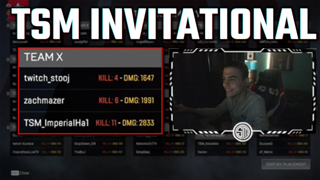STOMPING IN THE TSM INVITATIONAL!!!   TSM ImperialHal