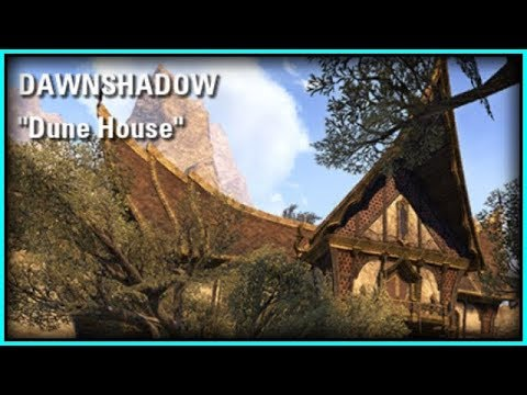 ESO Room Tours! DAWNSHADOW PLAYER HOUSES from Legendary Lindsay! Housing Homestead