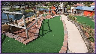 ONE OF OUR CLOSEST MINI GOLF GAMES EVER! | Brooks Holt