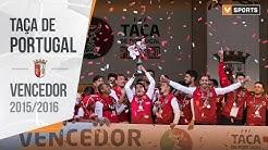 SC Braga: Vencedor da Taça de Portugal 2015/2016