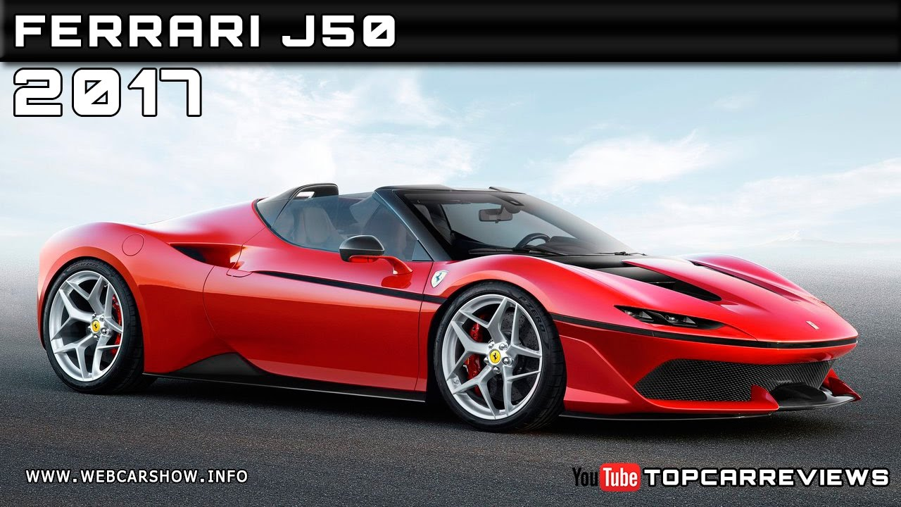 2017 Ferrari J50 Review Rendered Price Specs Release Date