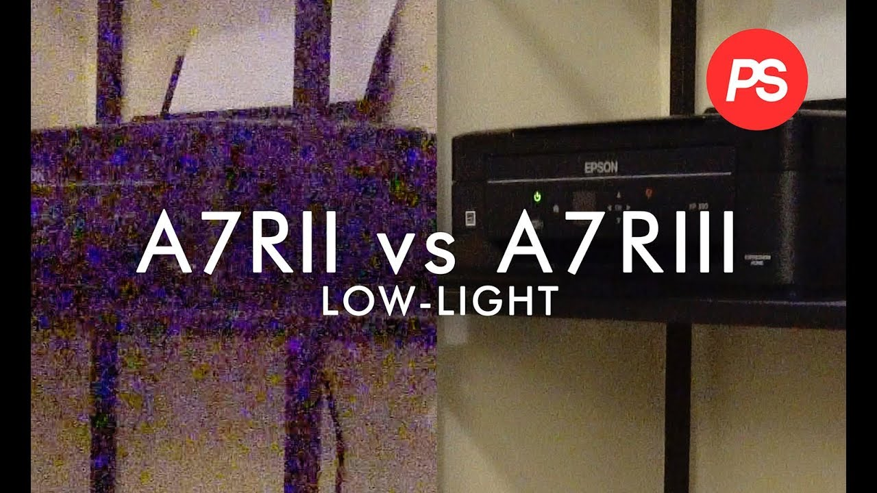 Sony A7RII vs A7RIII High ISO Comparison