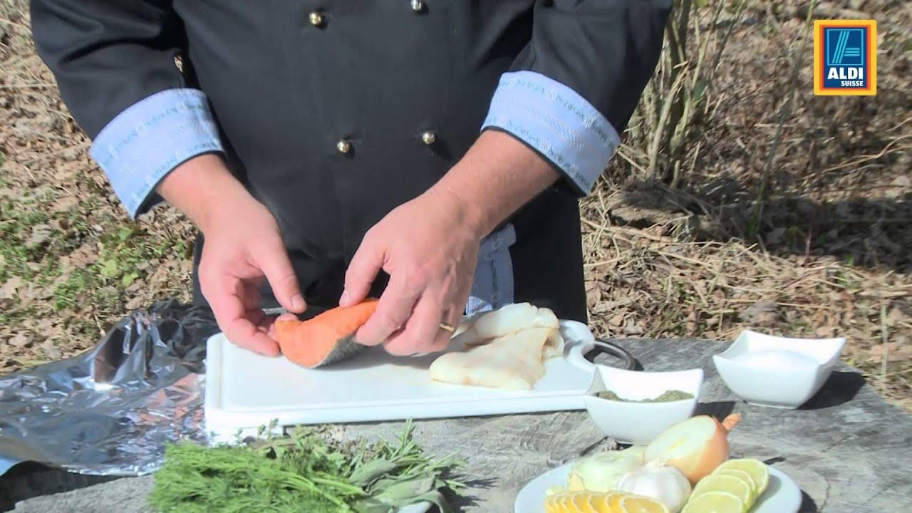 Aldi Gasgrill Schweiz : Grill tipp 3: fisch grillieren youtube
