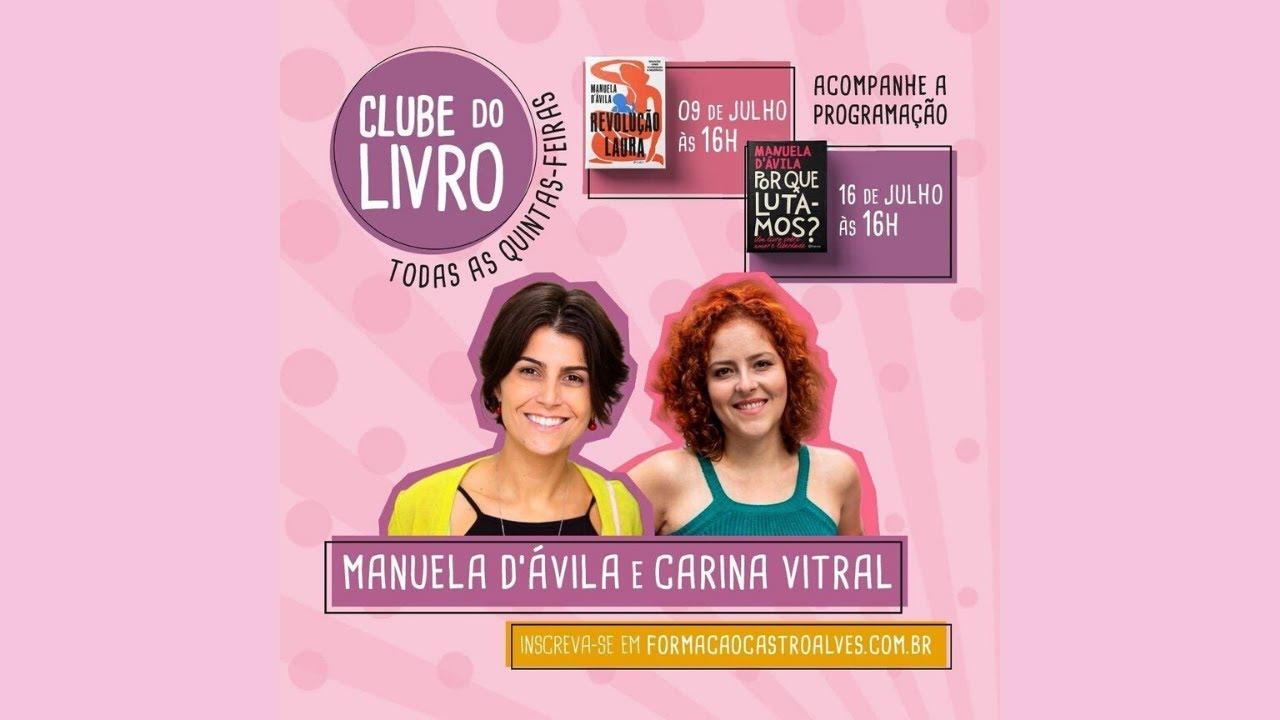Clube do Livro - Manu fala sobre Revolução Laura