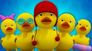 5 little ducks | nursery rhymes | baby songs | kids videos