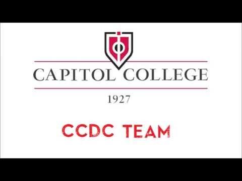Capitol College 2014 CCDC Team Intro
