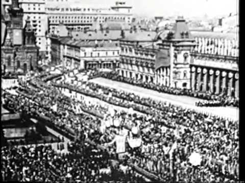 """Churchill's """"Iron Curtain"""" Speech"""