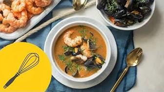 Einfaches Bouillabaisse Rezept   Französische Fischsuppe (Vereinfachtes Original für Anfänger)