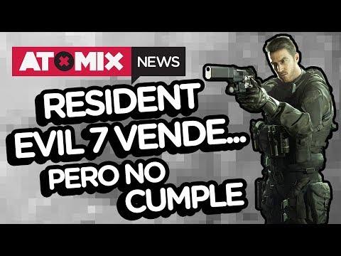 Resident Evil 7 vende... pero no cumple – #AtomixNews [19/10/17]