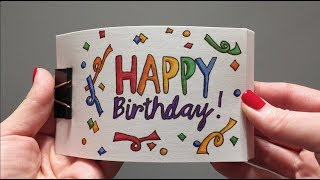 BIRTHDAY Flipbook Compilation- some of my first flipbooks ever!