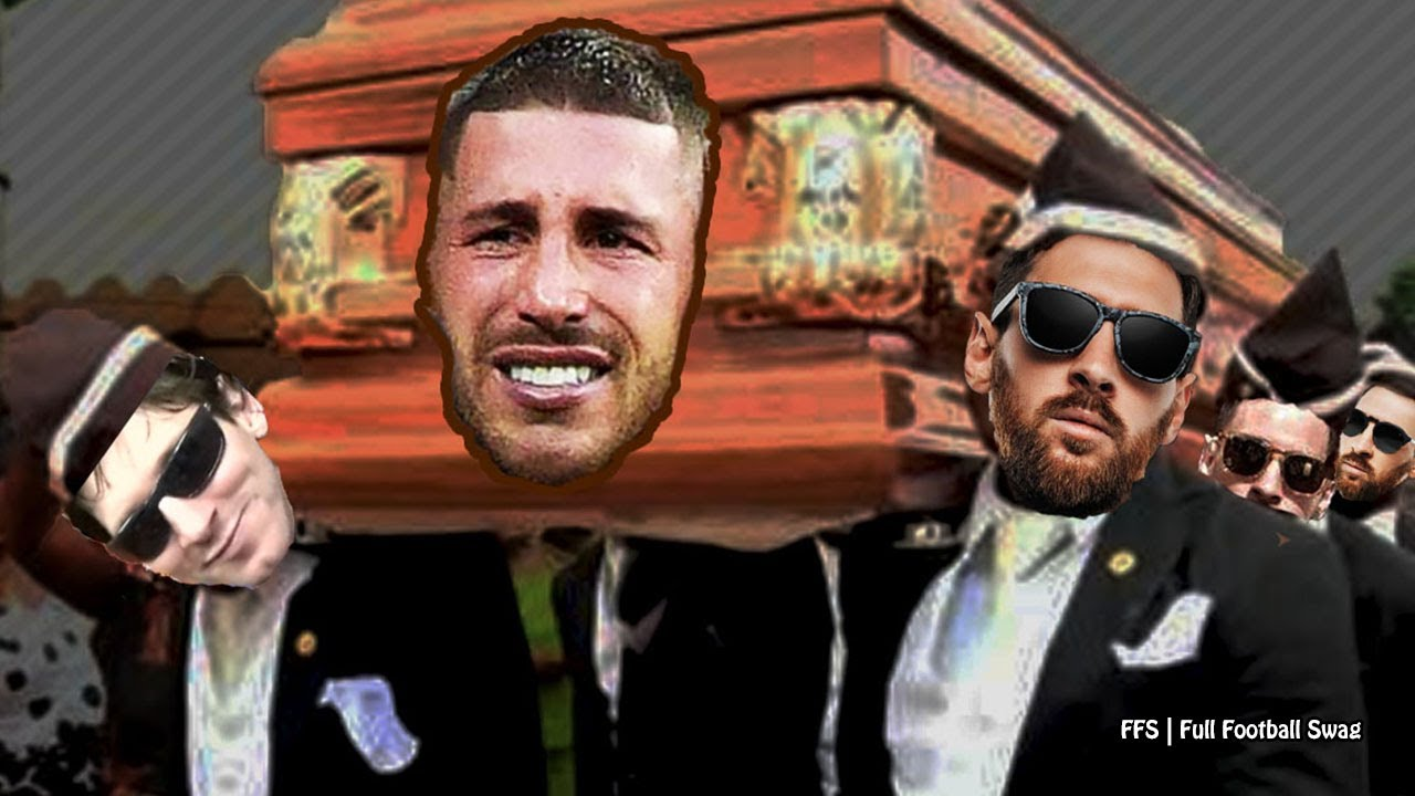 Messi Vs Ramos - Coffin Dance Meme Edition