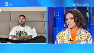 Fedez e Francesca Michielin - Domenica In 11/04/2021