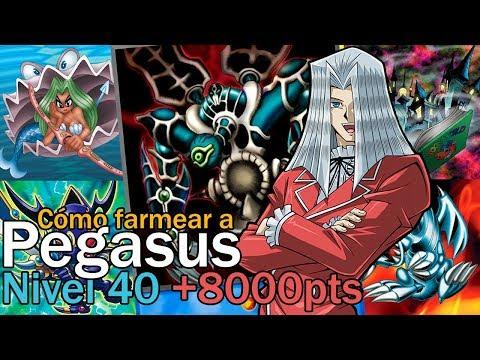 Cómo farmear a Pegasus Nivel 40 | 3 DECKS | +8000pts | Yu-Gi-Oh! Duel Links