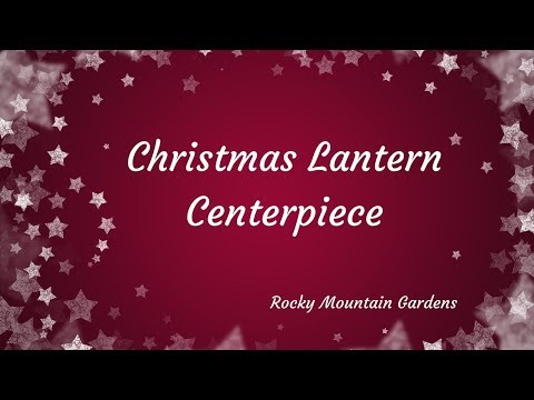 DIY Christmas Lantern Centerpiece Styled on a Tray 🎁🌲