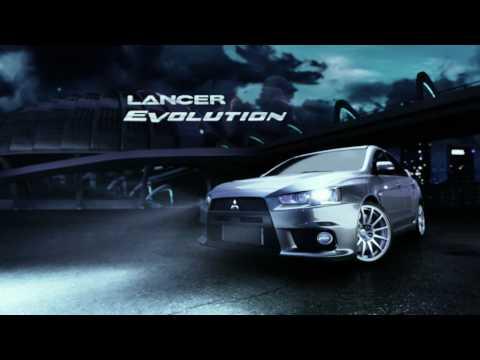 Mitsubishi Lancer Evolution Defy Physics TV Ad - YouTube