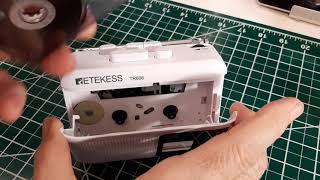 TRRS #2041 - RETEKESS TR606 AM/FM/Cassette Player/Recorder