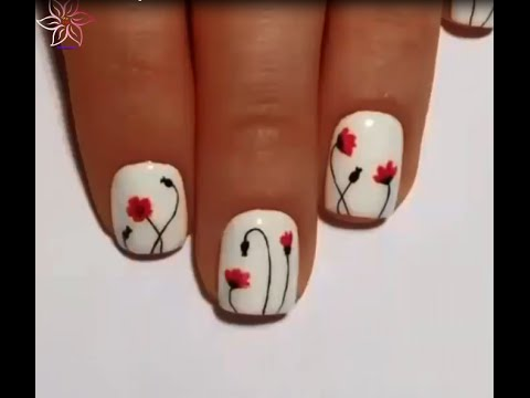 Cute nail designs for teenagers - 10 Cute nails art for teen girl 9zlip  (only on Youtube) - Cute Nail Designs For Teenagers - 10 Cute Nails Art For Teen Girl