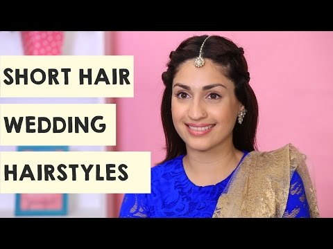 2 Wedding Hairstyles For Short Hair