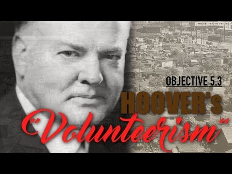 Objective 5.3- Hoover