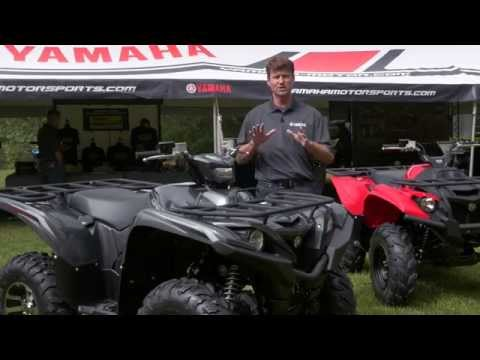 2016 Yamaha Grizzly 700 and Kodiak 700 First Look Video