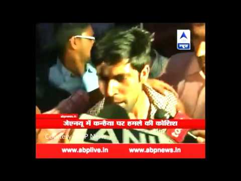Attacked On Kanhaiya Kumar In JNU Campus !! Indian Viral Videos lMUFgcb7cRs