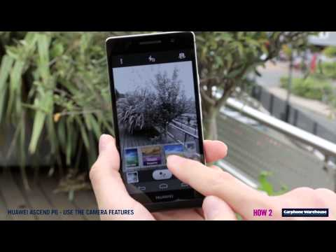 Huawei Ascend P6 - How 2 Use the camera features