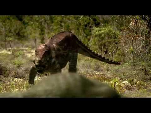 Postosuchus vs Placerias - Постозух против Плацериаса [RUS]